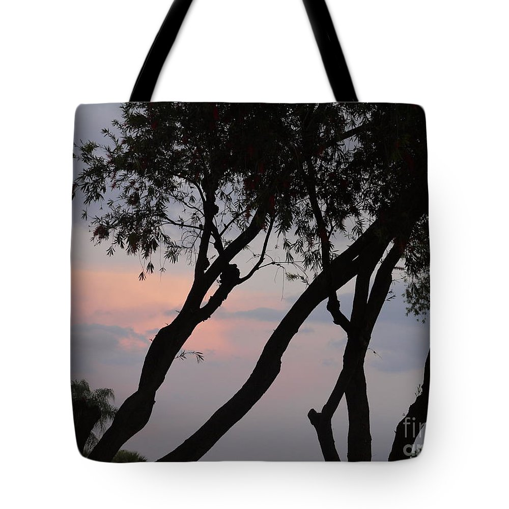 Palm Trees Tote Bag featuring the painting Palm Haven by Heather Hennick