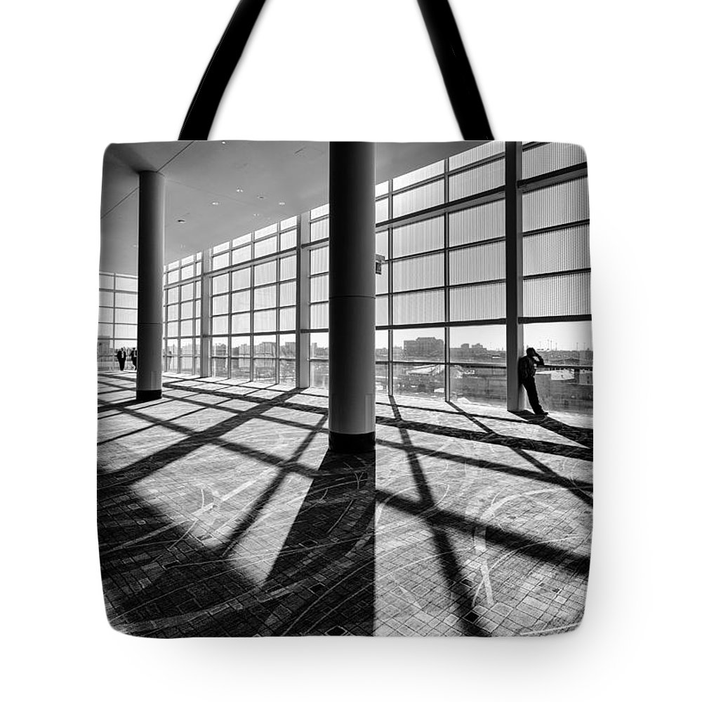 Windows Tote Bag featuring the photograph Panes by Lauri Novak