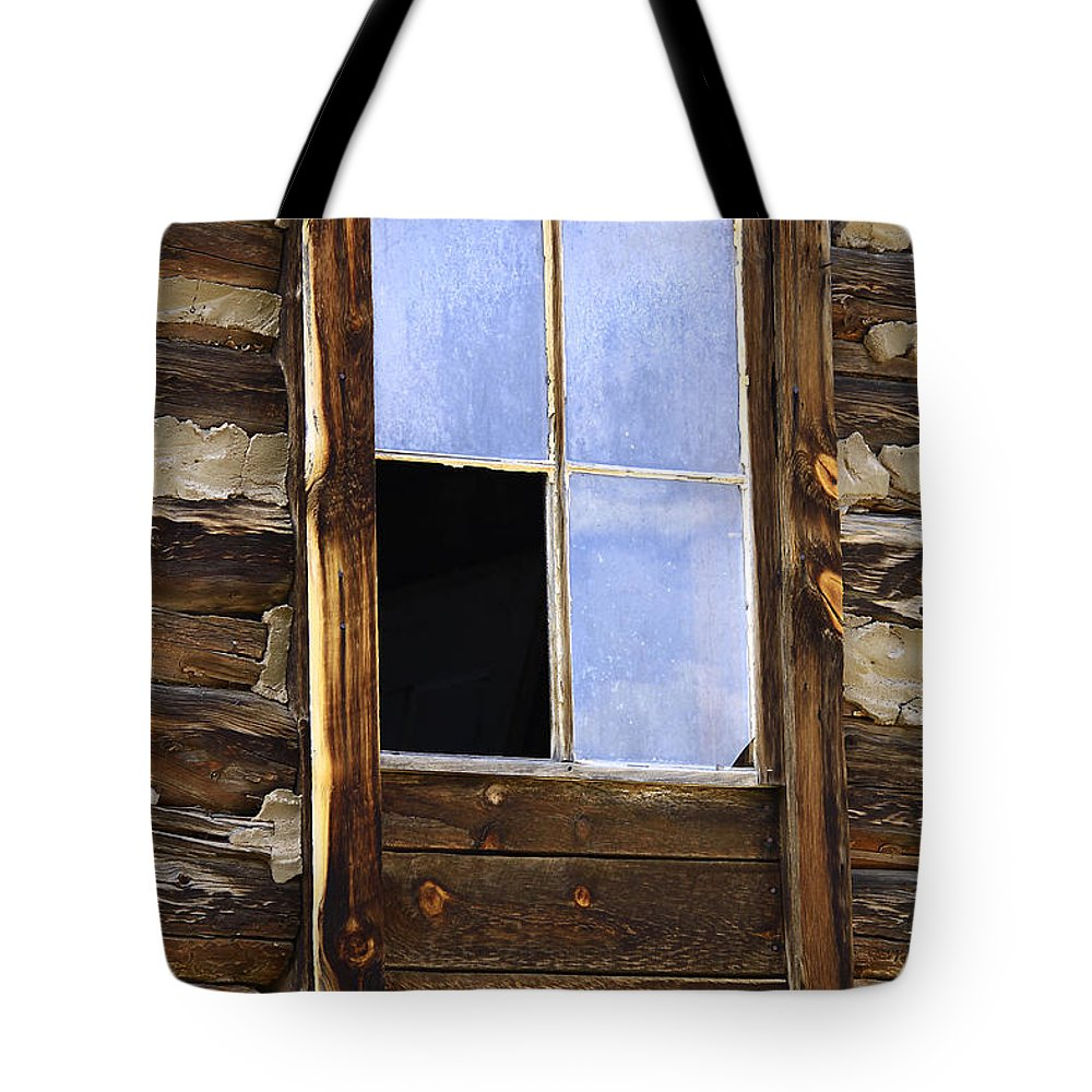 Nature Tote Bag featuring the photograph Panes Of Yesteryear by David Kehrli