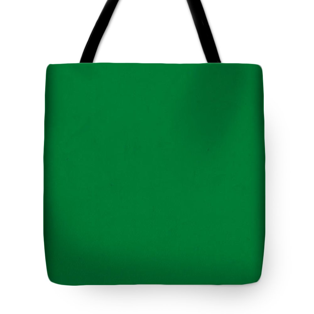 pantone 348 forest green color on worn canvas tote bag for sale by