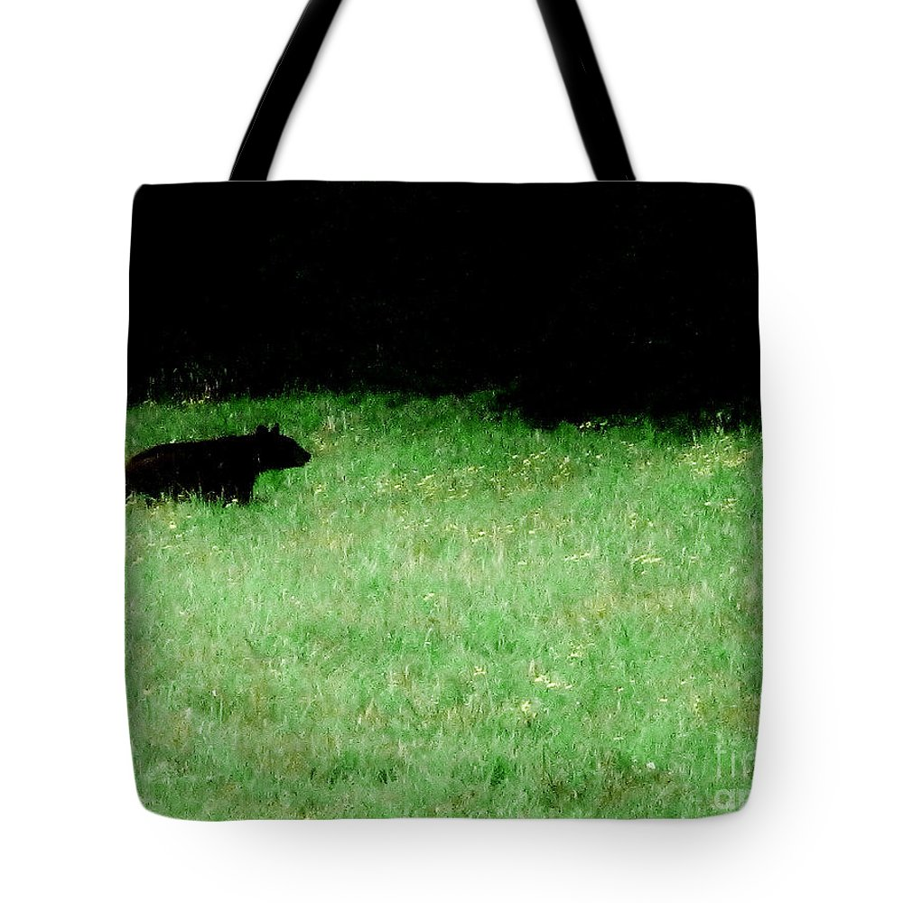 Cherokee Tote Bag featuring the photograph Papa Bear by Keri West