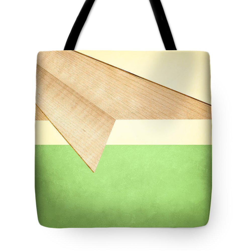 Aircraft Tote Bag featuring the photograph Paper Airplanes Of Wood 17 by YoPedro