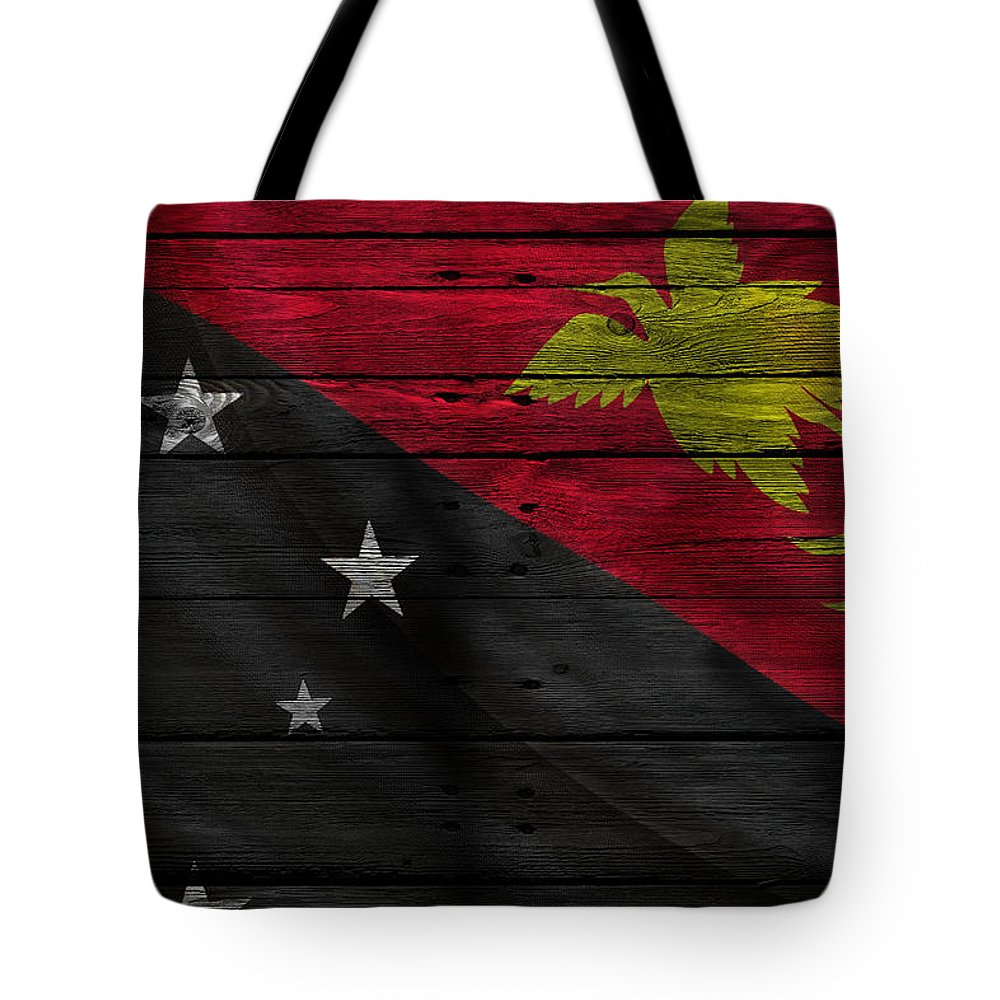 West Papua Photographs Tote Bags