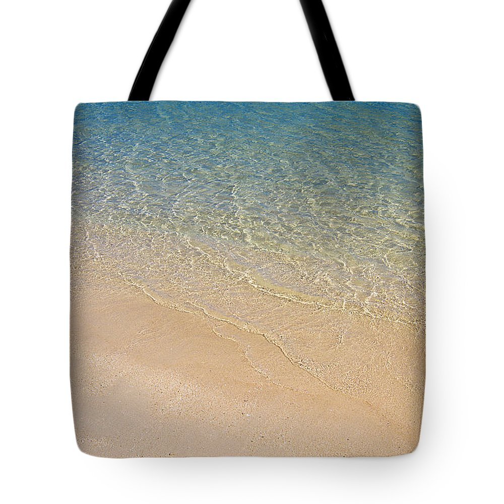 Sub-tropical Tote Bag featuring the photograph Paradise Beach by Peter Lloyd