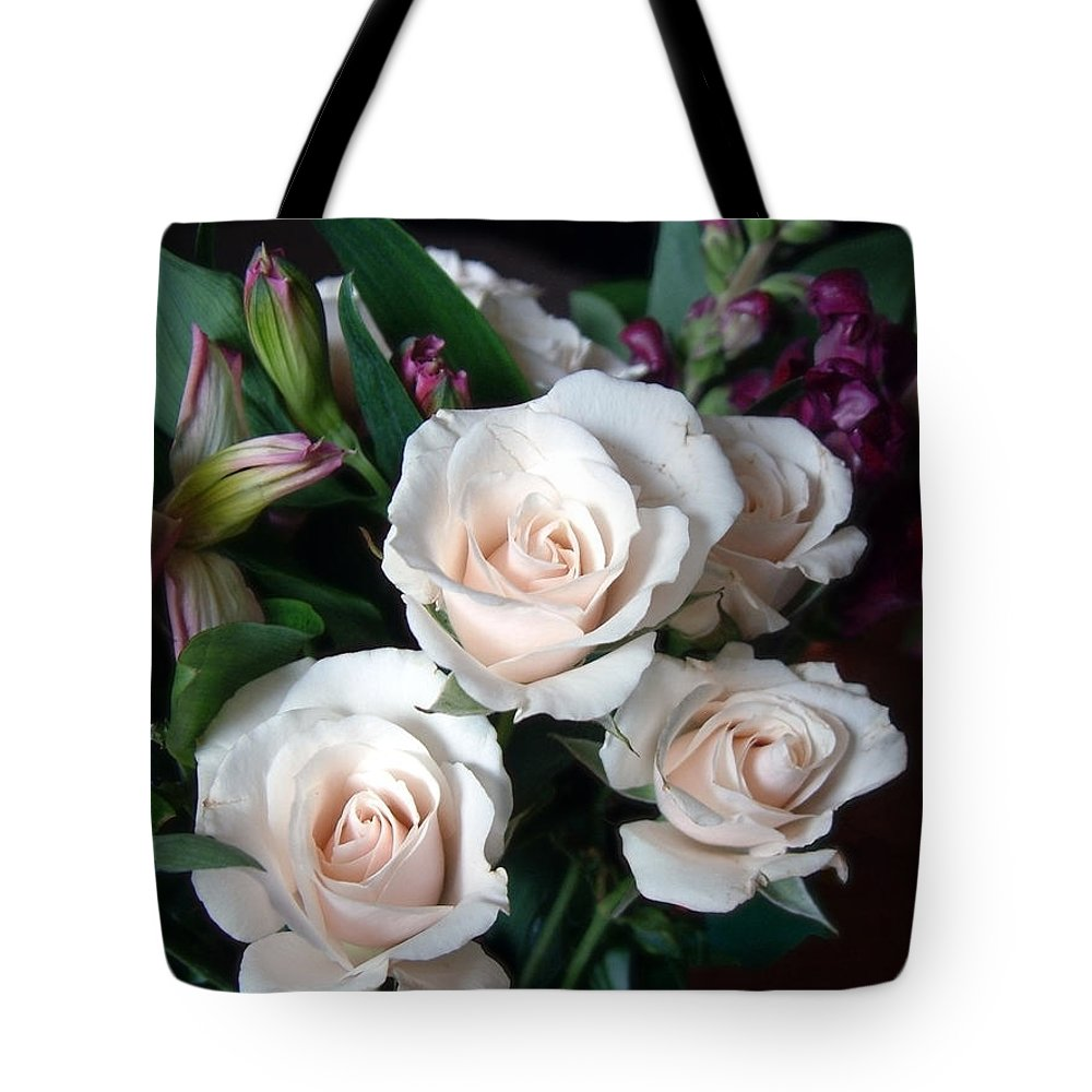 Flowers Tote Bag featuring the photograph Pardon My Blush by RC DeWinter