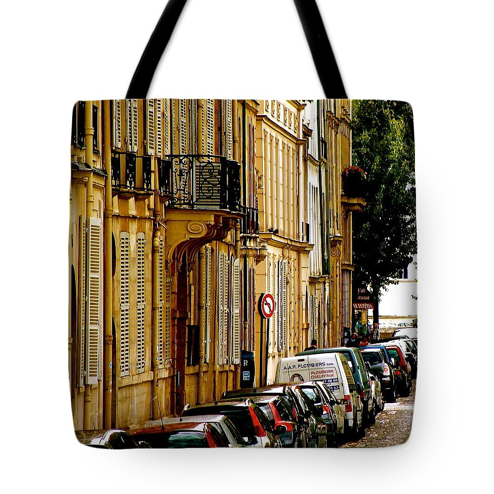 Paris Tote Bag featuring the photograph Paris Afternoon by Ira Shander