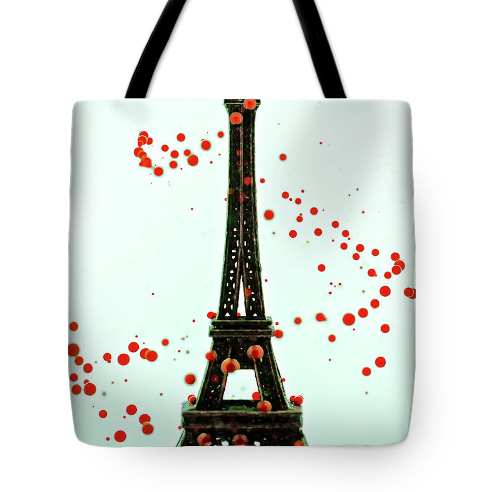 Replica Eiffel Tower Tote Bag featuring the photograph Paris by Dina Belenko Photography