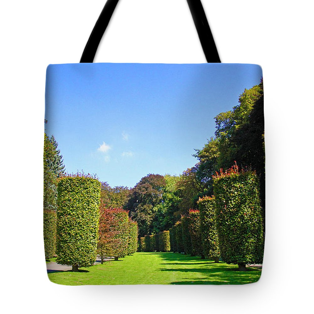 Landscape Tote Bag featuring the photograph Parkway by Alain Michiels