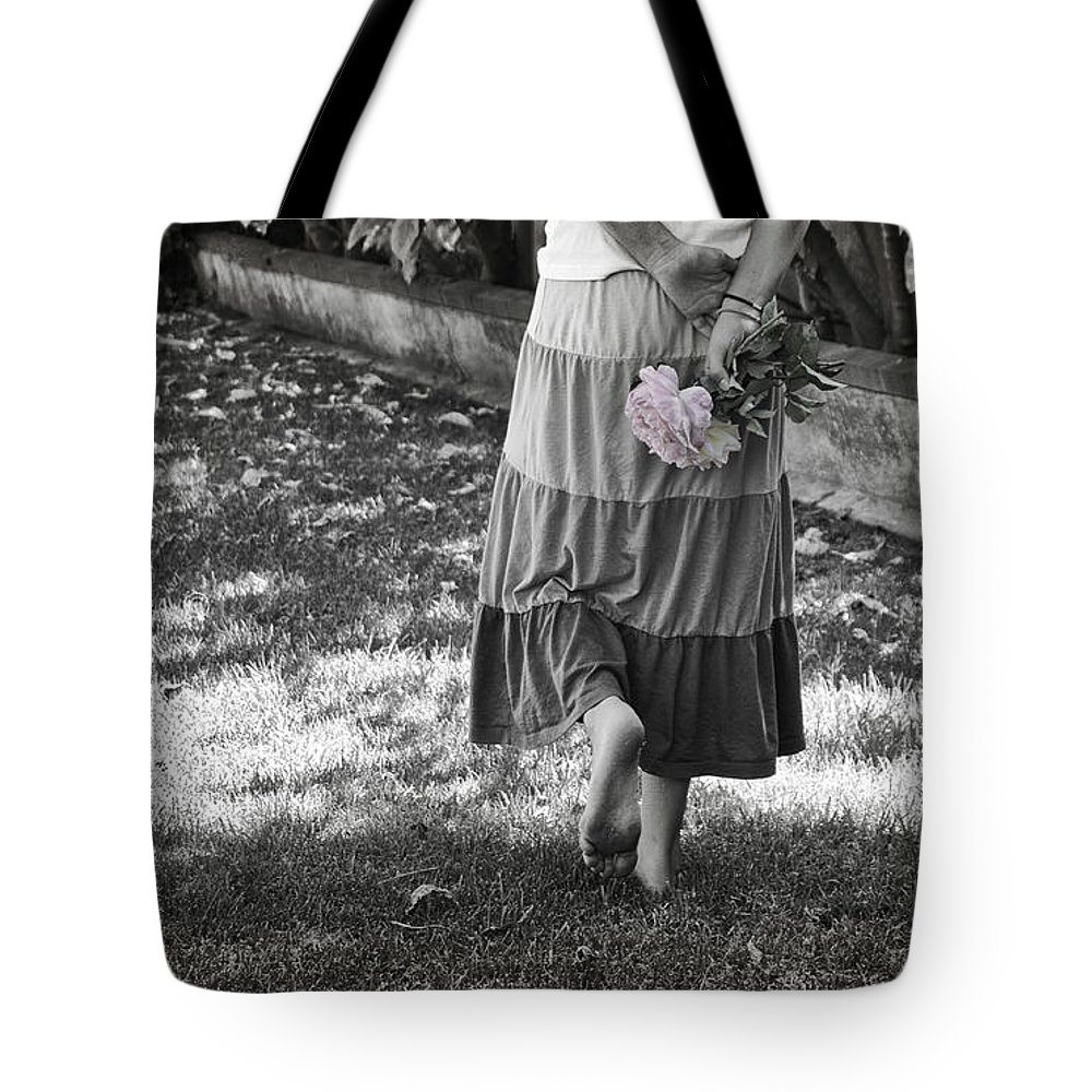 Passage Tote Bag featuring the photograph Passage To Faeryland by Diana Haronis