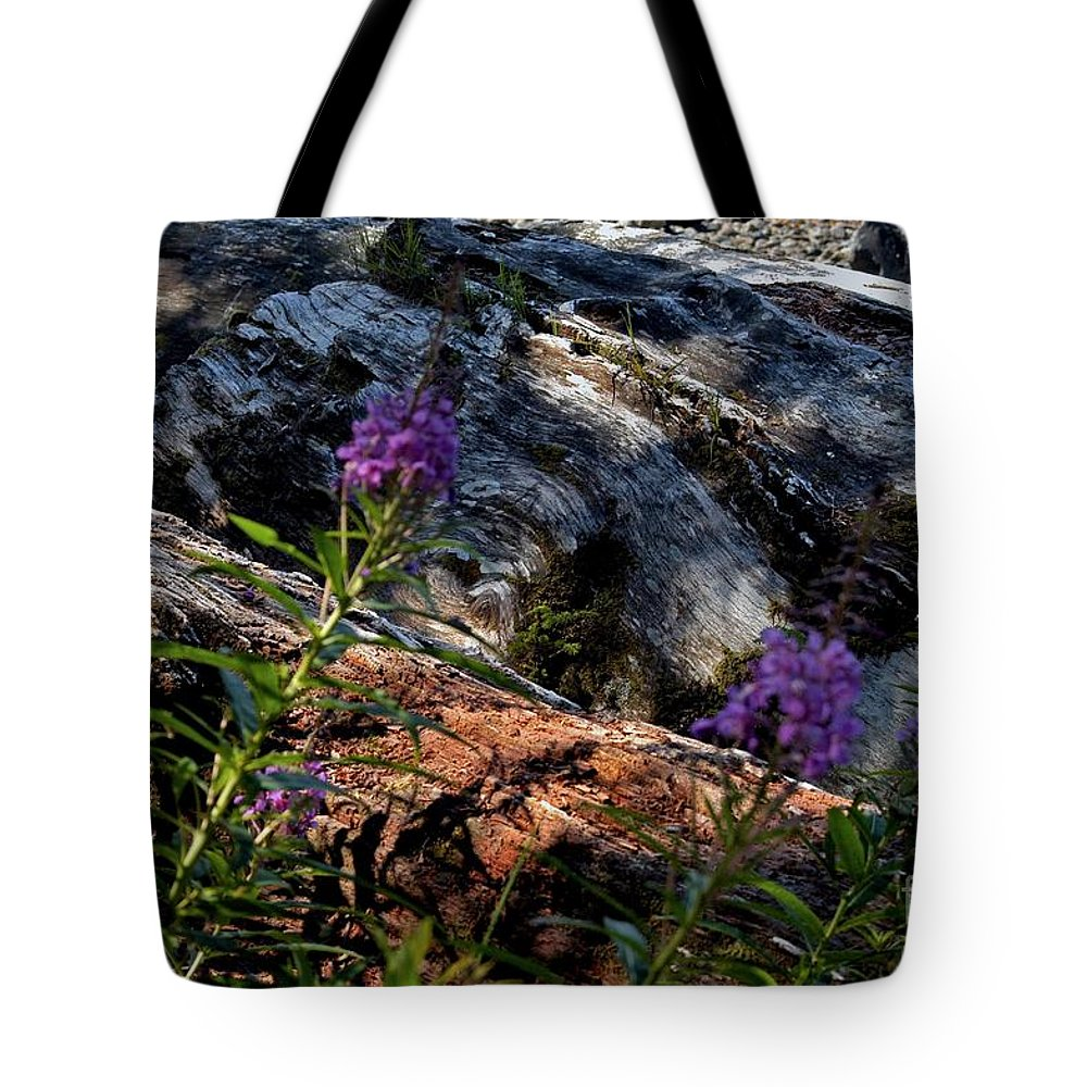 Alaska Tote Bag featuring the photograph Past And Present by Joseph Yarbrough