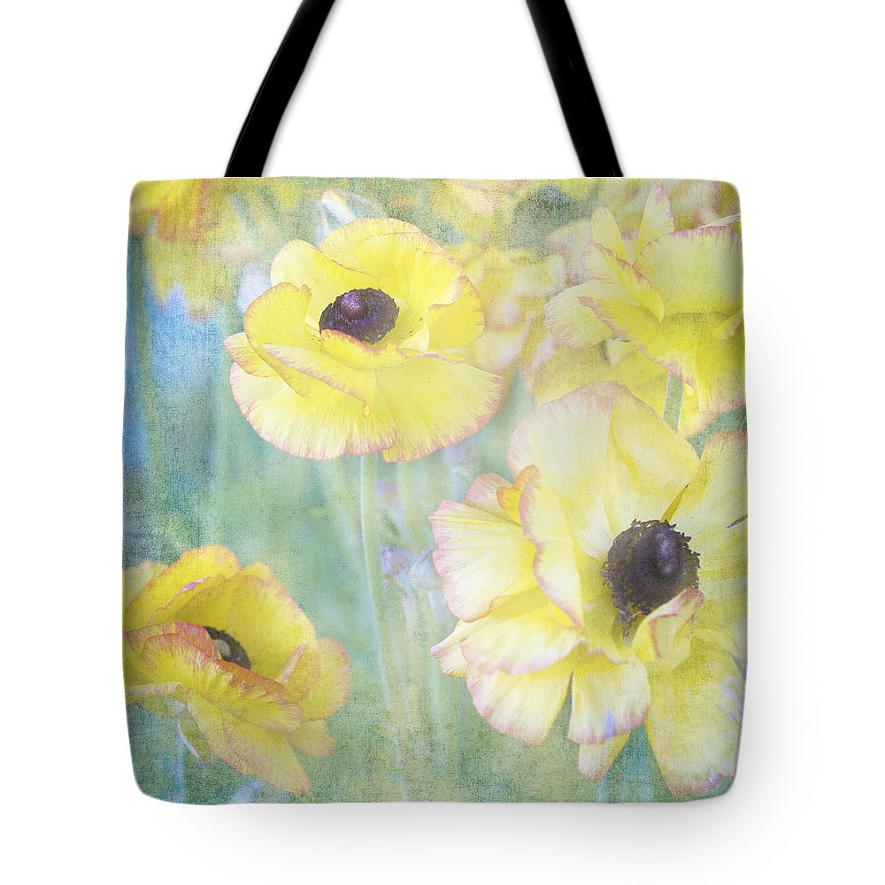 Pastel Flowers Tote Bag featuring the photograph Pastel Perfection by Renee Hong