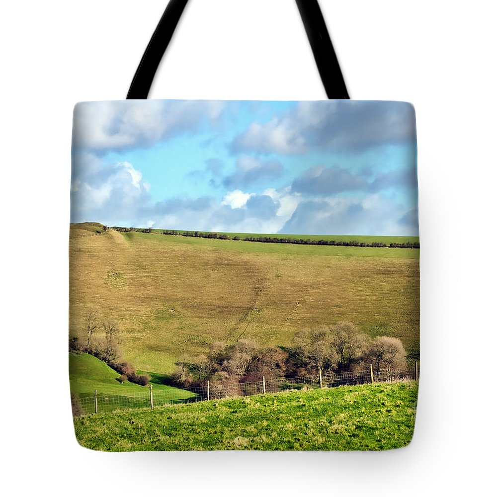 Dorset Tote Bag featuring the photograph Pasture Land - Dorset by Susie Peek