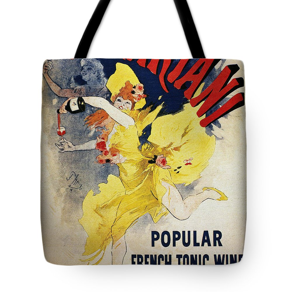1894 Tote Bag featuring the photograph Patent Medicine Ad, 1894 by Granger