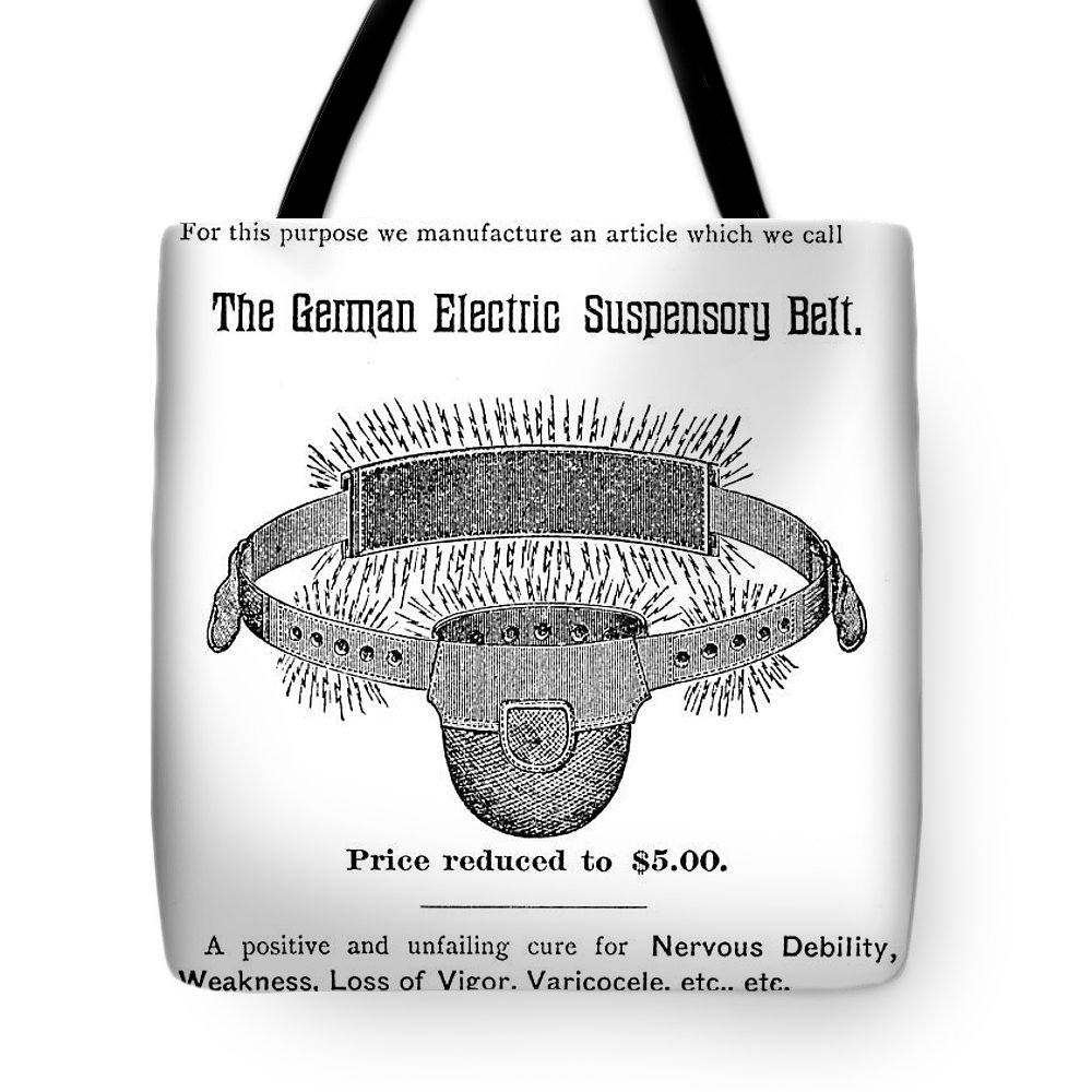 19th Century Tote Bag featuring the photograph Patent Medicine Pamphlet by Granger