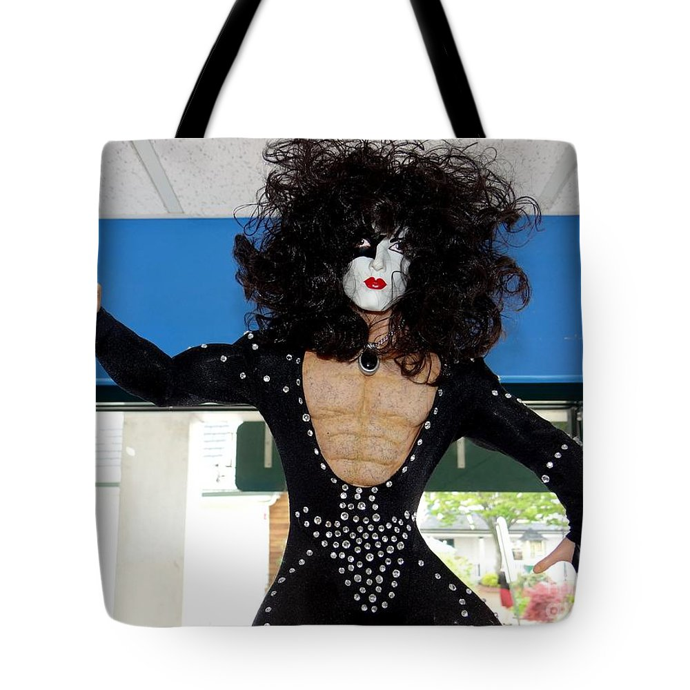 Mannequins Tote Bag featuring the photograph Paul In Action by Ed Weidman