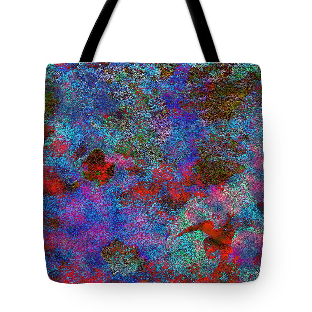 Barnie Paw Print Designs Tote Bag featuring the photograph Paw Prints Intermingle by Dorothy Berry-Lound