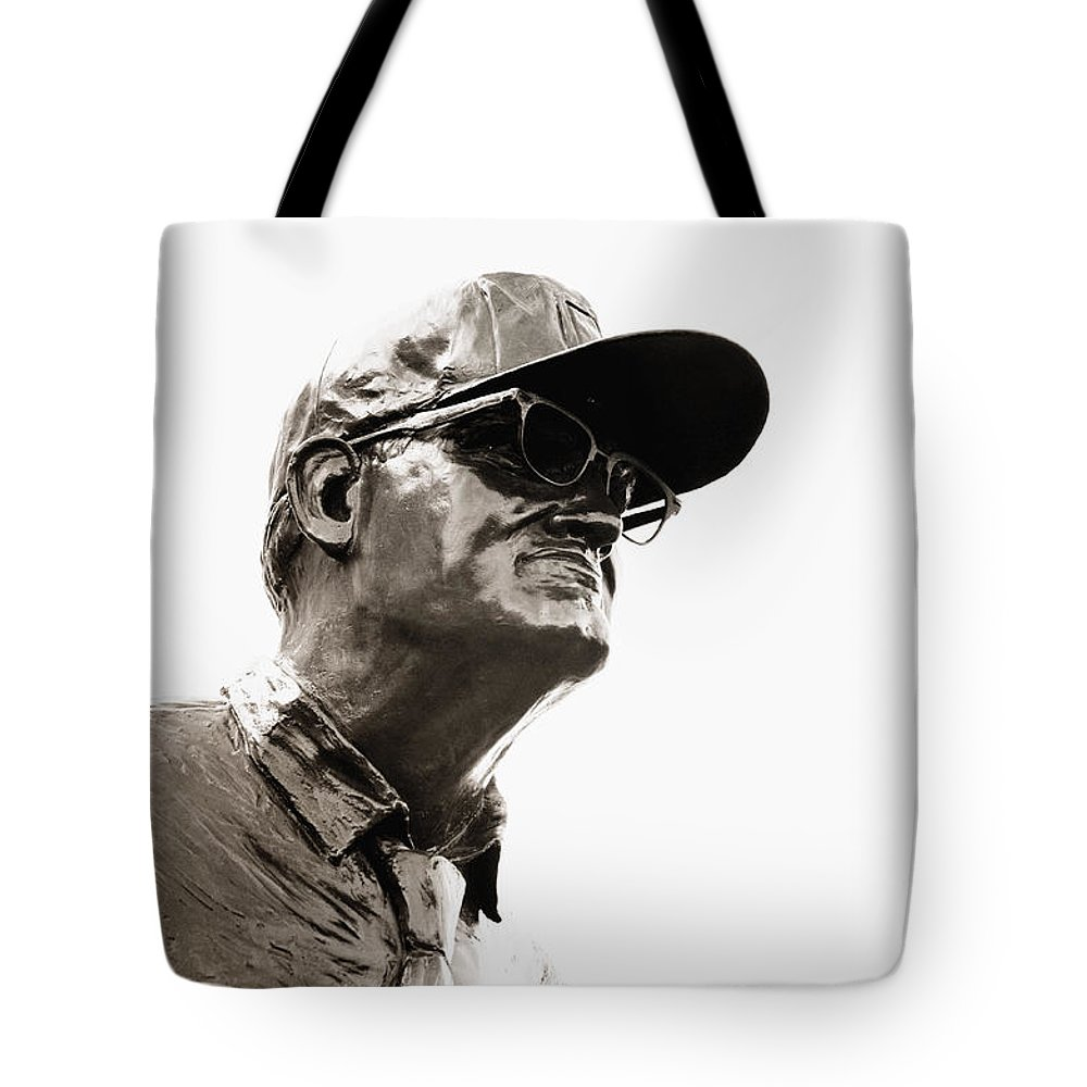 Woody Hayes Tote Bag featuring the photograph Pay It Forward by Rachel Barrett
