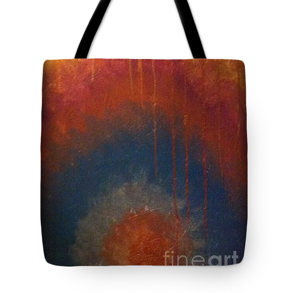 Tote Bag featuring the painting Peace by Cynthia Williams