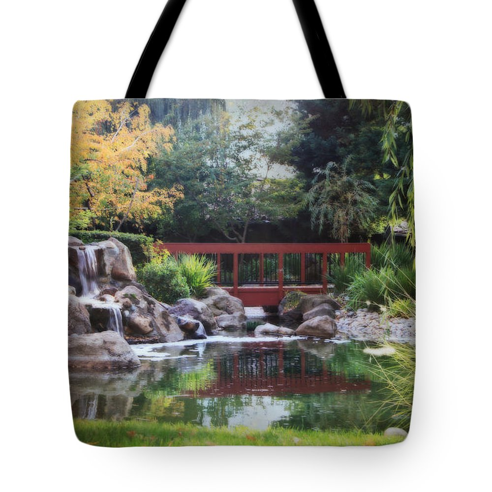Landscape Tote Bag featuring the photograph Peaceful Dreams by Laurie Search