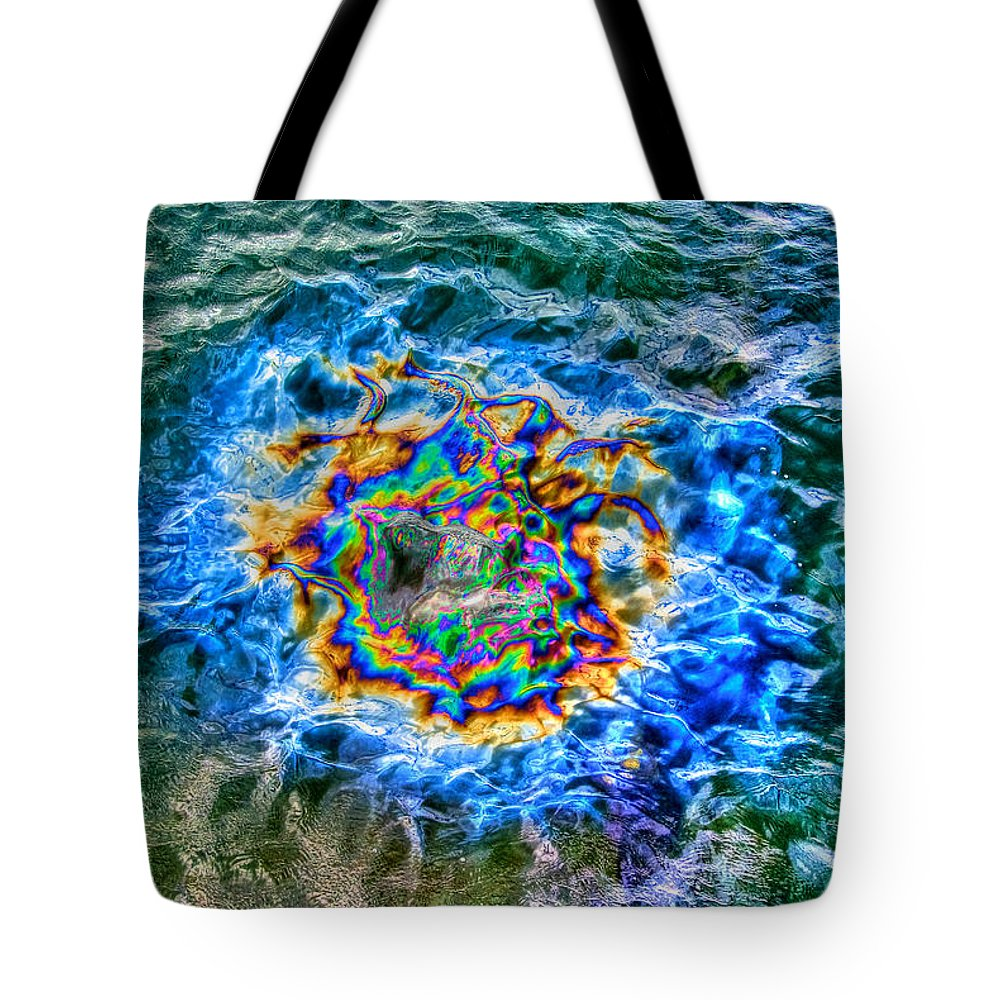 Pearl Harbor Tote Bag featuring the photograph Pearl Harbor 2 by Richard J Cassato