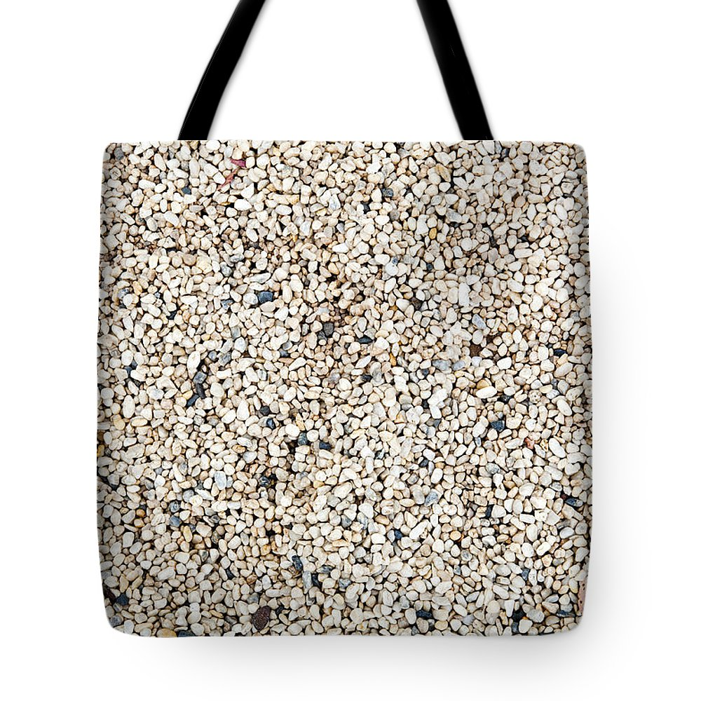 Background Tote Bag featuring the photograph Pebbles by Tim Hester