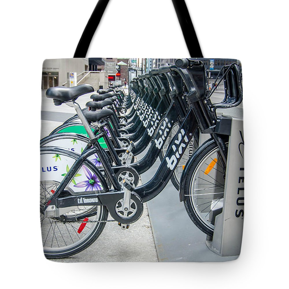 Guy Whiteley Photography Tote Bag featuring the photograph Pedal Power by Guy Whiteley