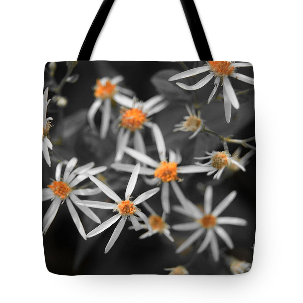 Flower Tote Bag featuring the photograph Pedals And Pollen by Joe Geraci