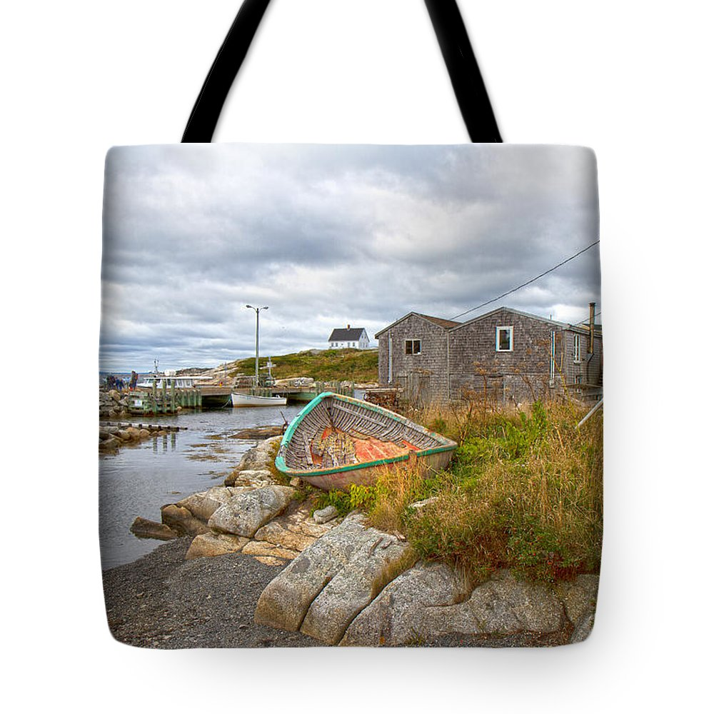 Peggy's Tote Bag featuring the photograph Peggy's Cove 12 by Betsy Knapp