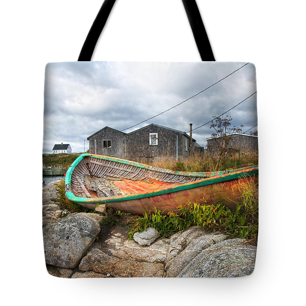 Peggy's Tote Bag featuring the photograph Peggy's Cove 13 by Betsy Knapp