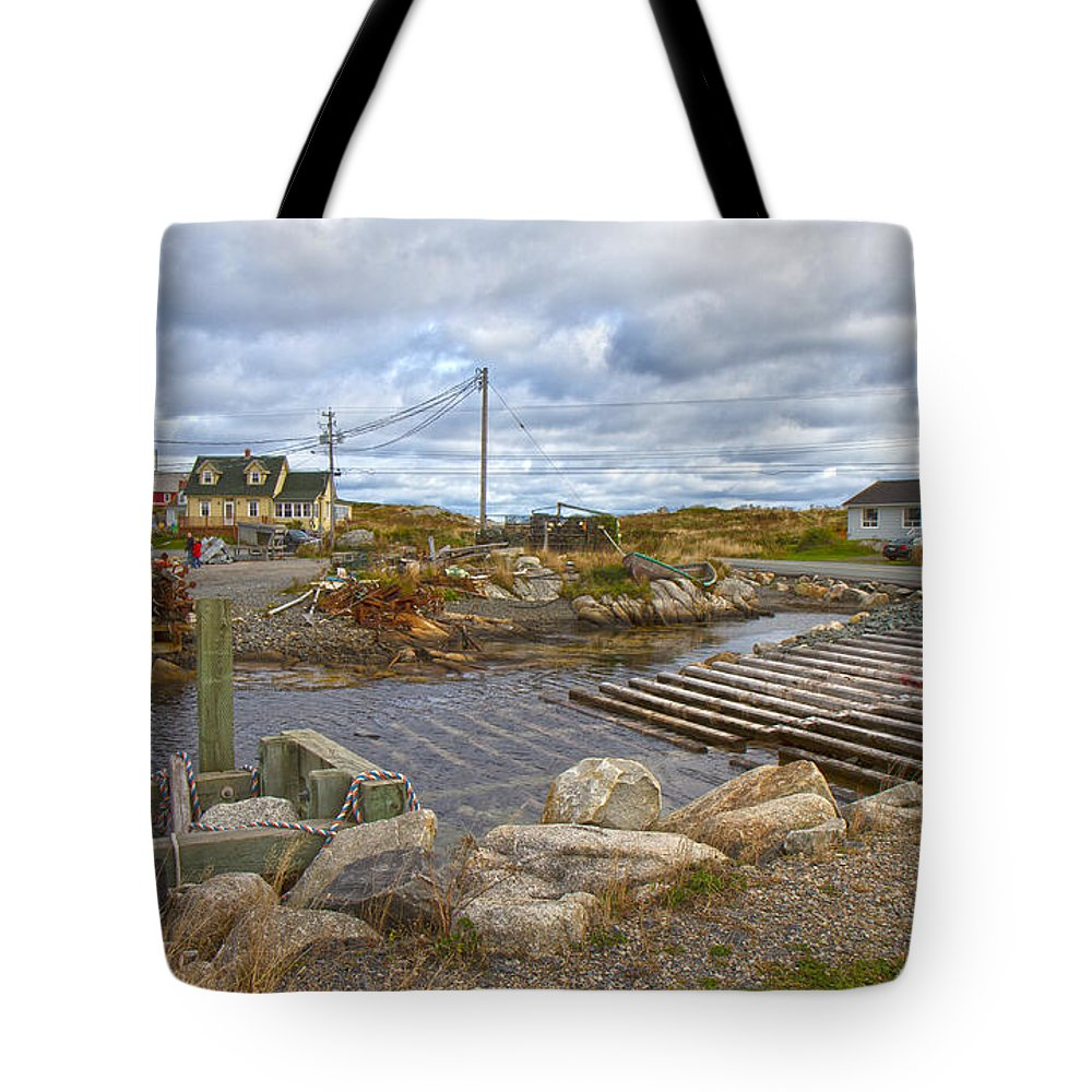 Peggy's Tote Bag featuring the photograph Peggy's Cove 8 by Betsy Knapp