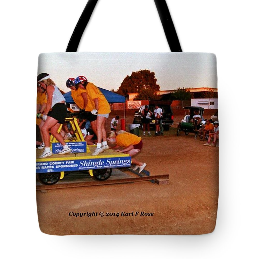 People Tote Bag featuring the photograph People At County Fair by Karl Rose
