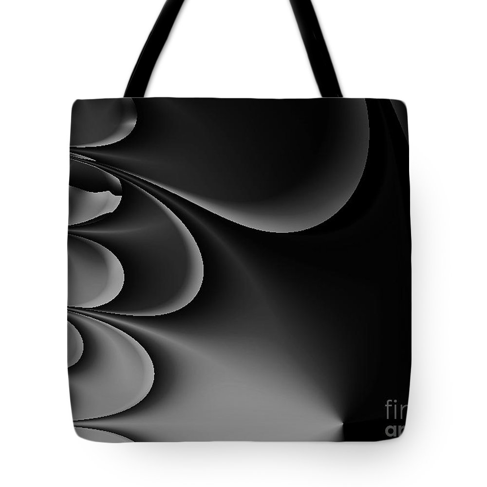 2-dimensional Tote Bag featuring the digital art Perfect Thunder by Dana Haynes