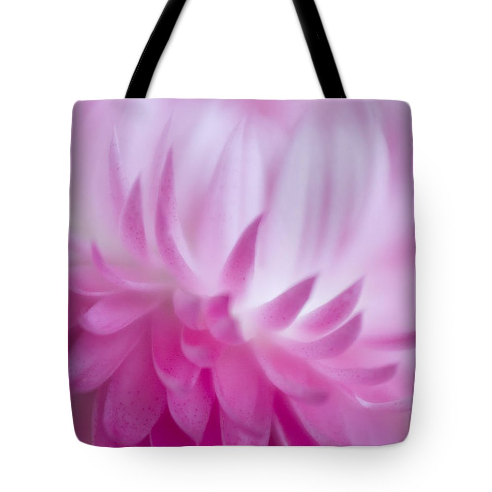 Abstract Tote Bag featuring the photograph Perfectly Pink by David and Carol Kelly