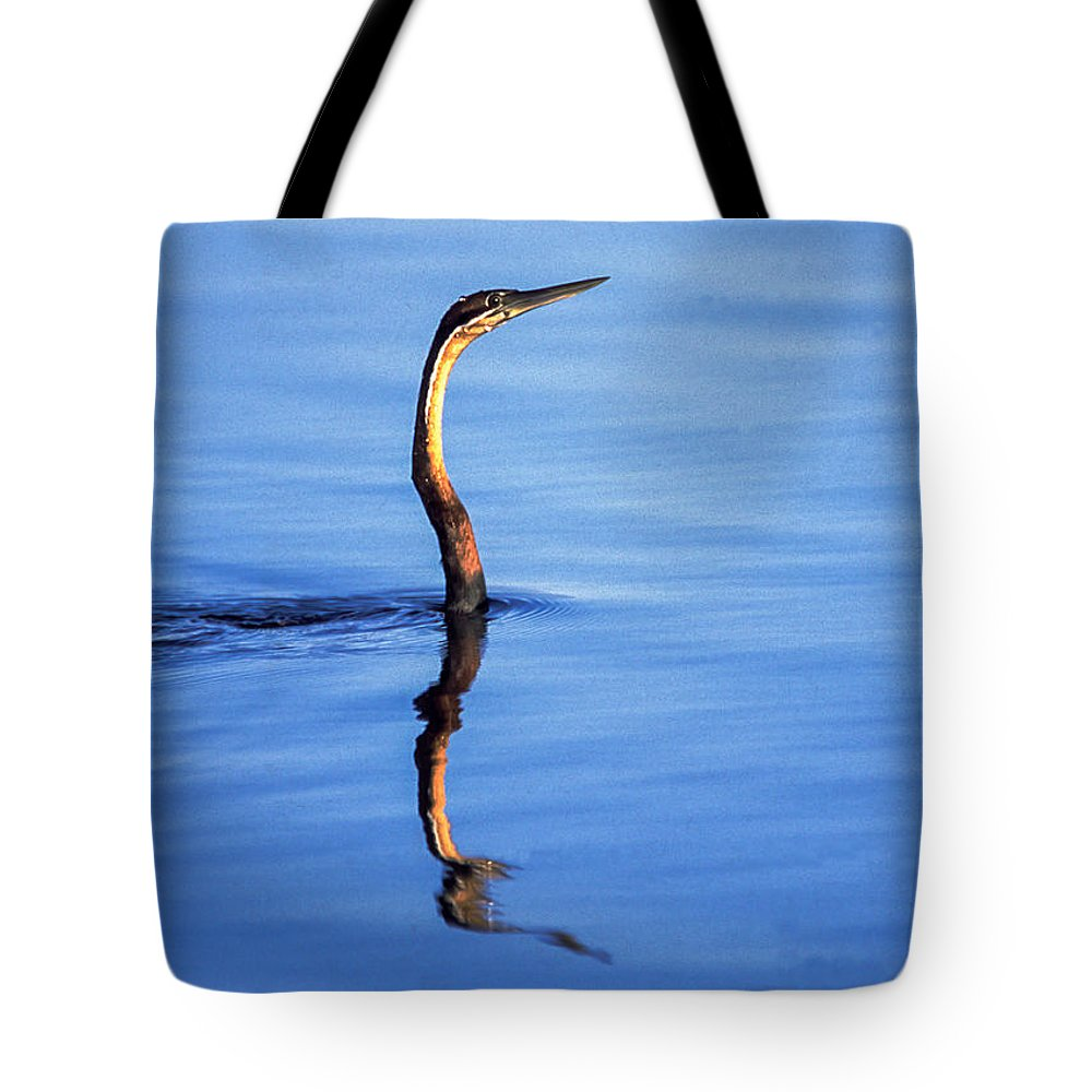 Africa Tote Bag featuring the photograph Periscope View by Alistair Lyne