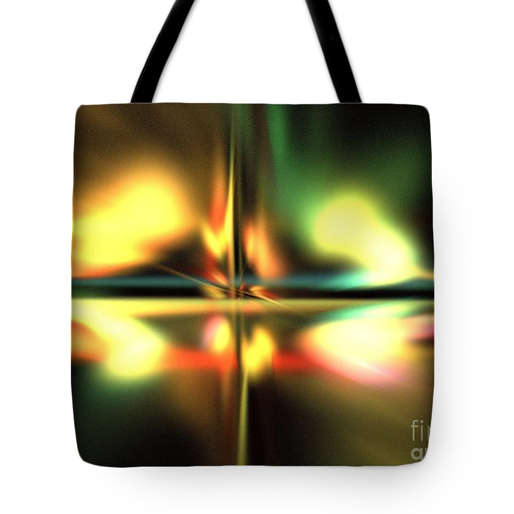 Apophysis Tote Bag featuring the digital art Persephone by Kim Sy Ok