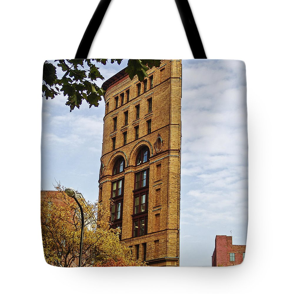 Perspective Tote Bag featuring the photograph Perspective by Eric Swan