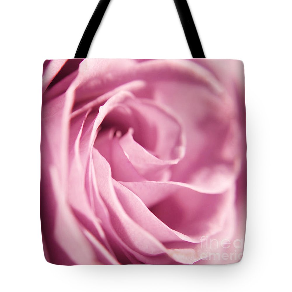 Rose Tote Bag featuring the photograph Petal Folds by Robin Lynne Schwind