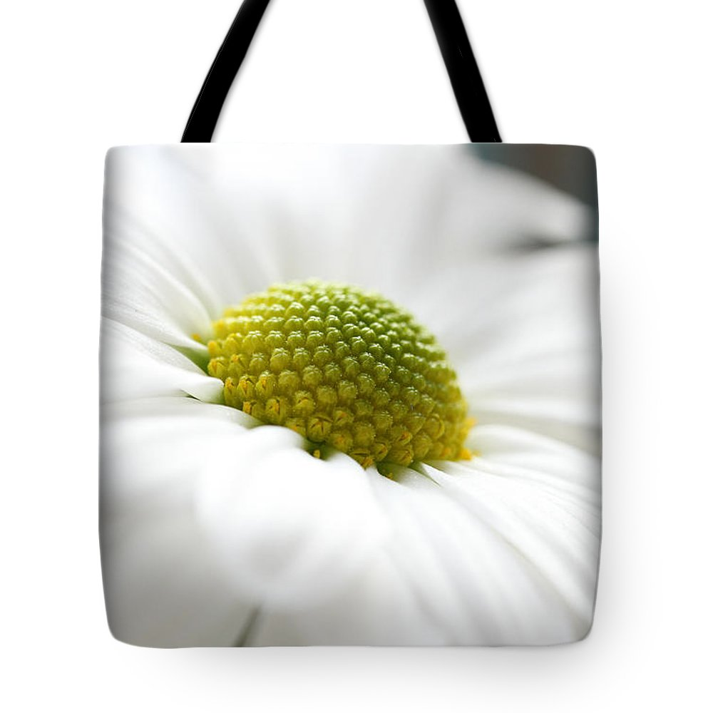 Chrysanthemum Tote Bag featuring the photograph Petal Froth by Connie Handscomb