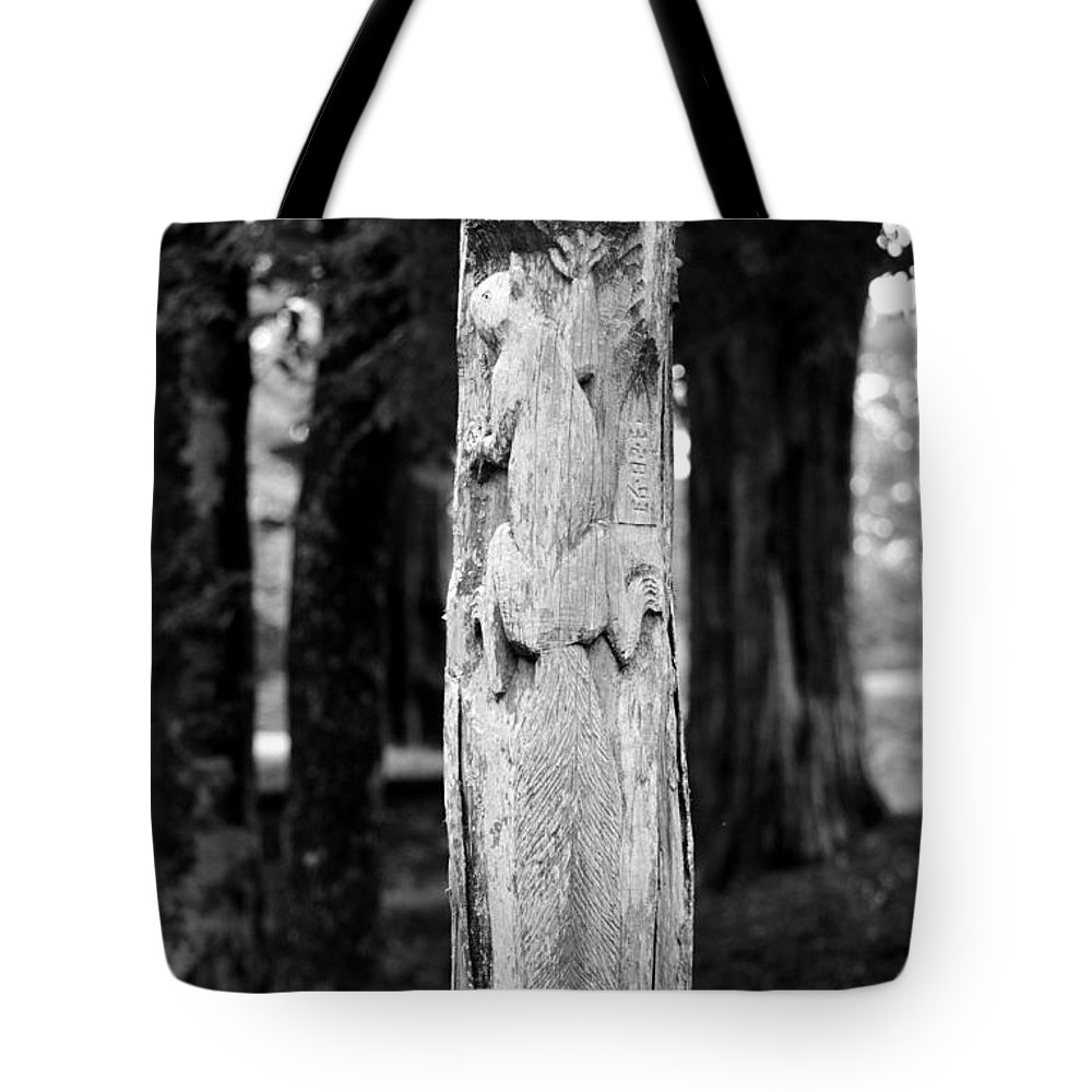 Petrified In Time Tote Bag featuring the photograph Petrified In Time by Maria Urso