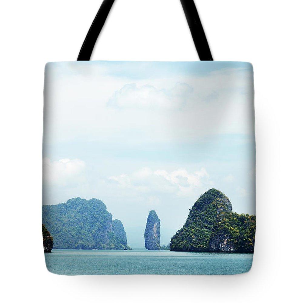 Archipelago Tote Bag featuring the photograph Phang Nga Archipelago Near Phuket by Ivanmateev