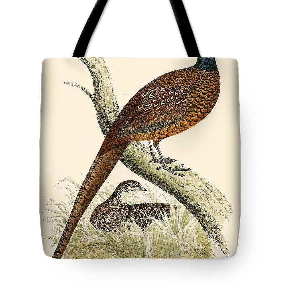 Pheasant Tote Bags