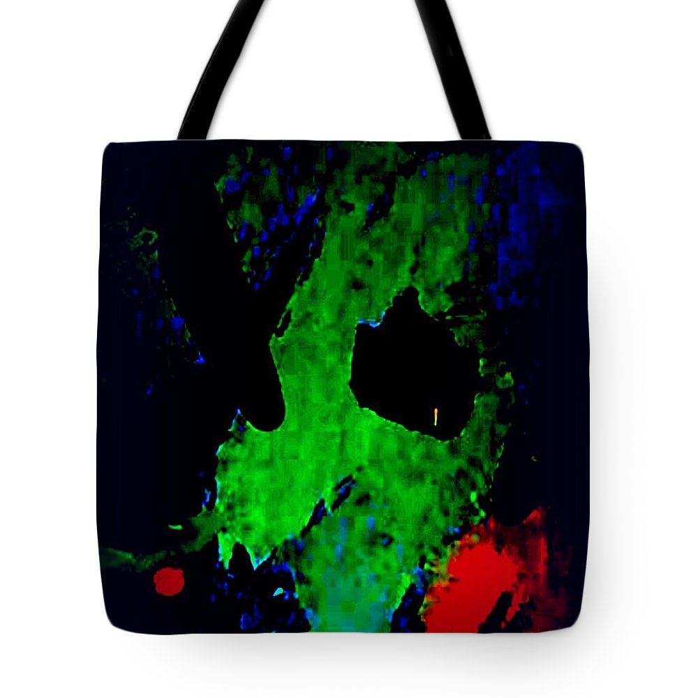 Framedabstracts Tote Bag featuring the painting Philanthropy by Mark Herman