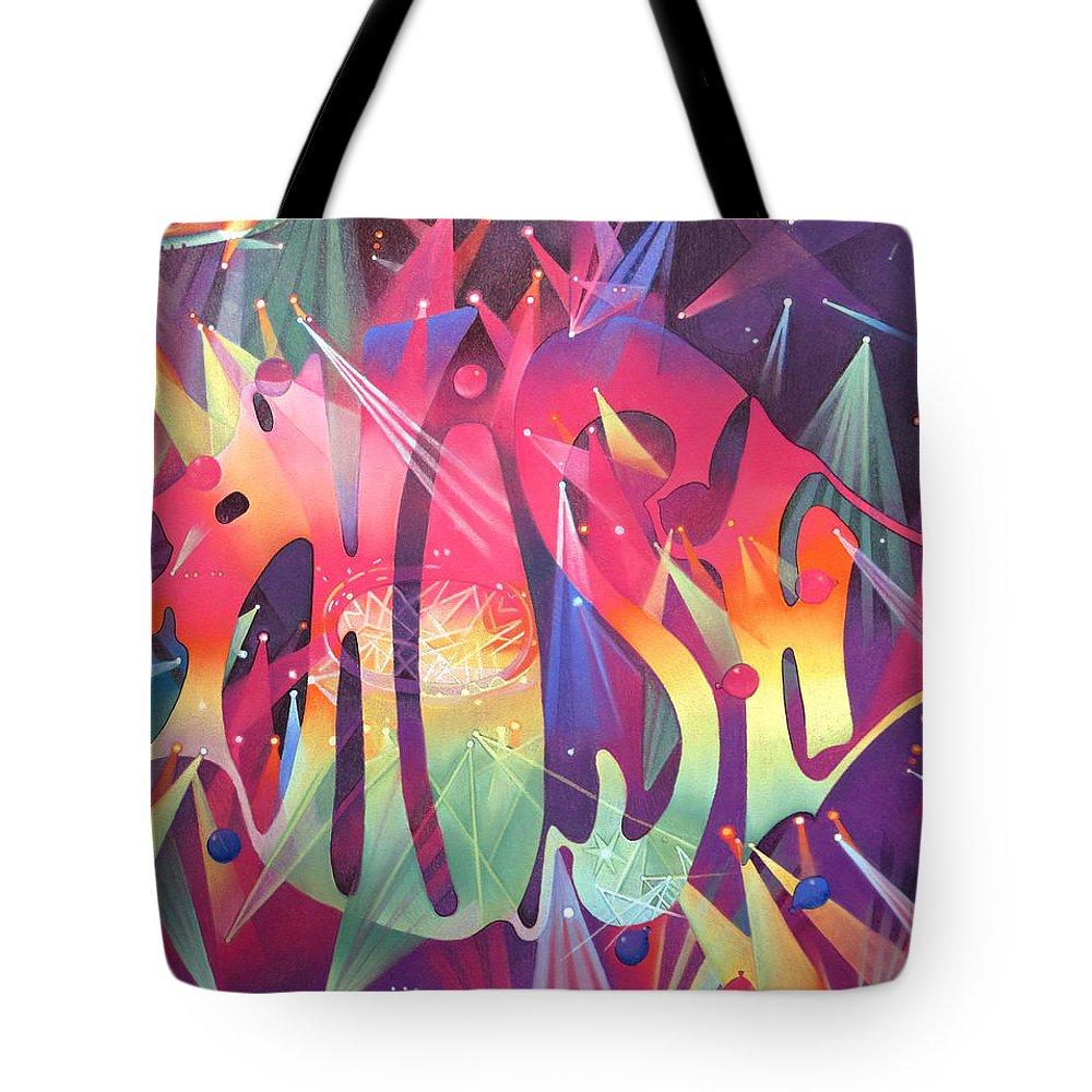 Musician Drawings Tote Bags