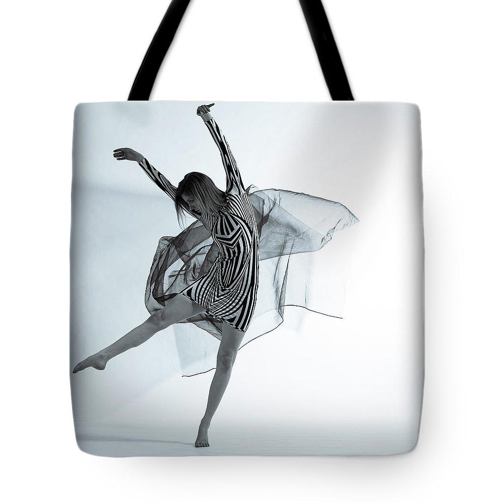 Ballet Dancer Tote Bag featuring the photograph Photofusion Shoot Jan 2013 by Maya De Almeida Araujo