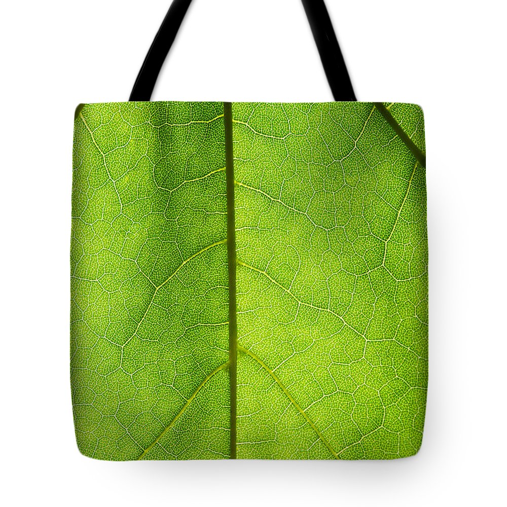 Abstract Tote Bag featuring the photograph Photosynthesis - Featured 3 by Alexander Senin