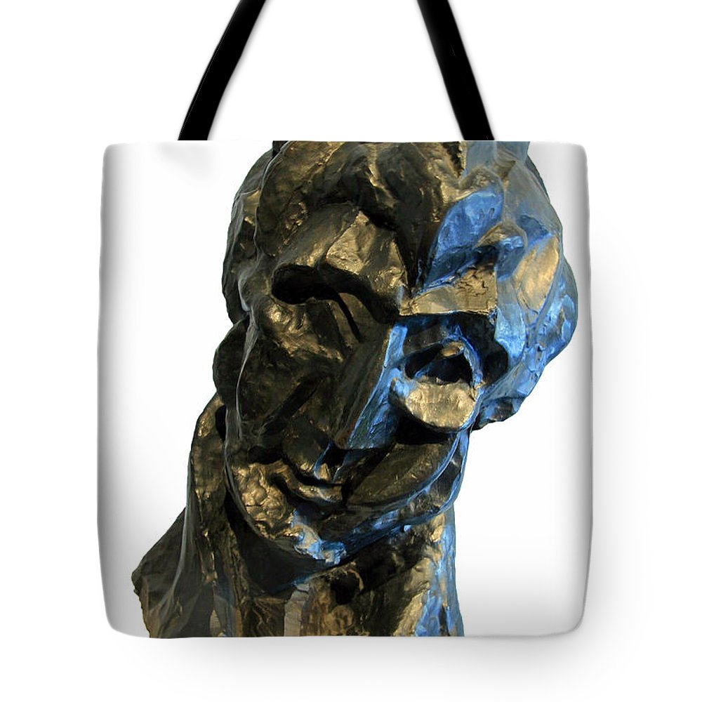 Head Of A Woman Tote Bag featuring the photograph Picasso's Head Of A Woman -- Fernande by Cora Wandel