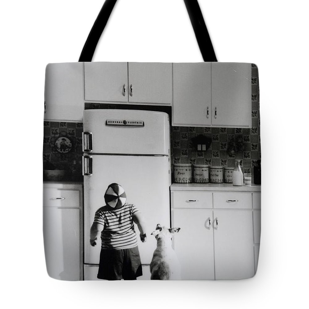 Pie Tote Bag featuring the photograph Pie In The Sky In Black And White by Rob Hans