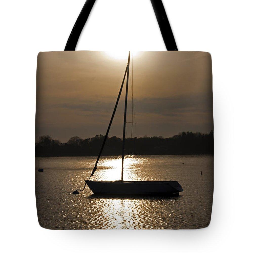 Sail Tote Bag featuring the photograph Pierced by Joe Geraci