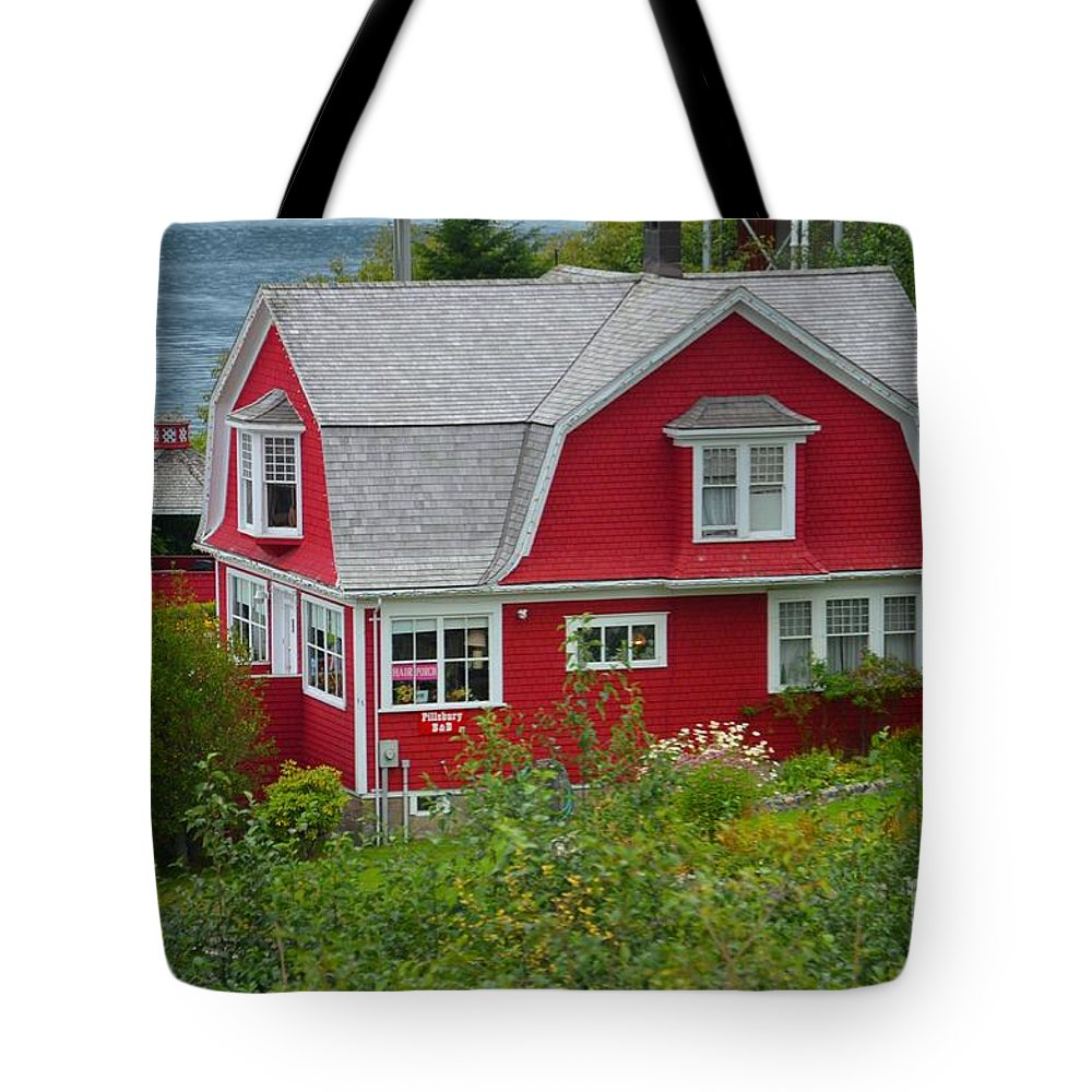 Pillsbury Guest House Tote Bag featuring the photograph Pillsbury Guest House by Deanna Cagle
