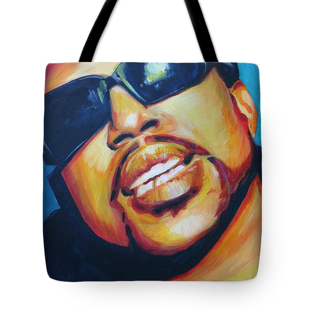Tote Bag featuring the painting Pimp C by Kate Fortin